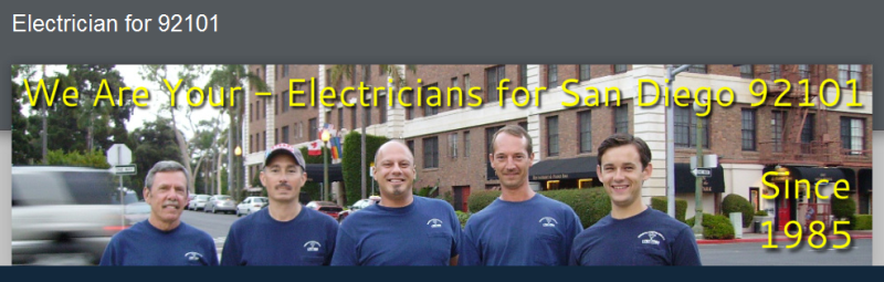 Quality C10 Electricians & Electrical Contractors for 92101